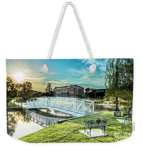 University Of Southern Mississippi Weekender Tote Bag