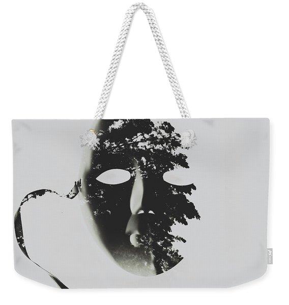 Unmasking In Silence Weekender Tote Bag