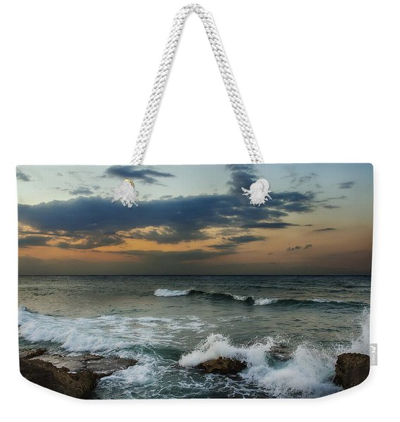 Unsettled Weekender Tote Bag