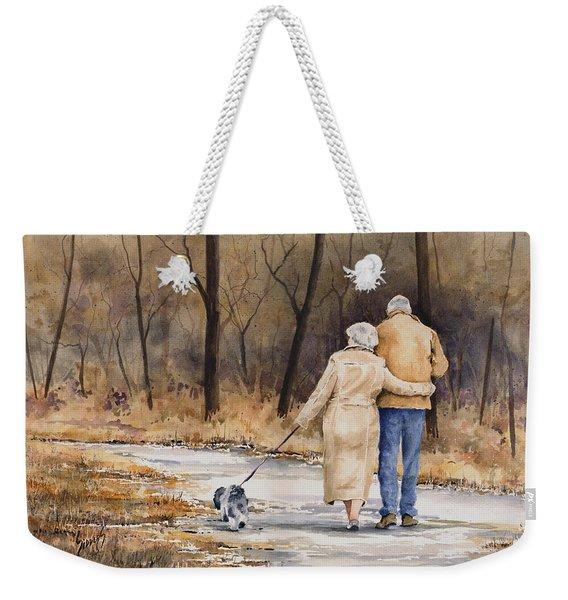 Unspoken Love Weekender Tote Bag