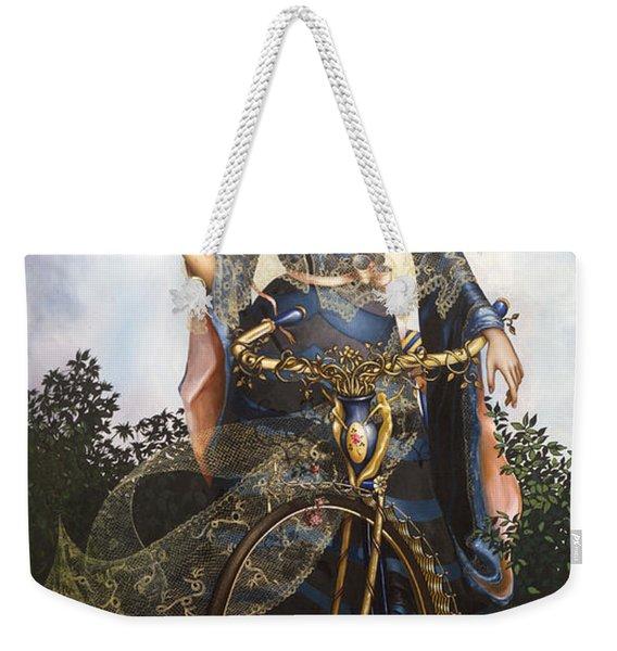 Unstuck In Time Weekender Tote Bag