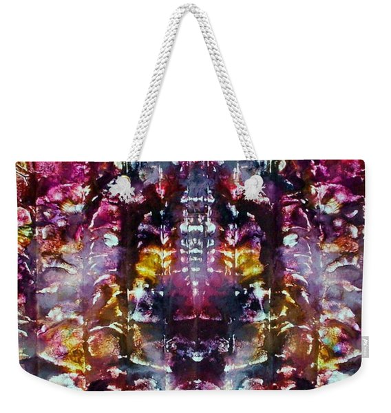 2-offspring While I Was  On The Path To Perfection 2 Weekender Tote Bag