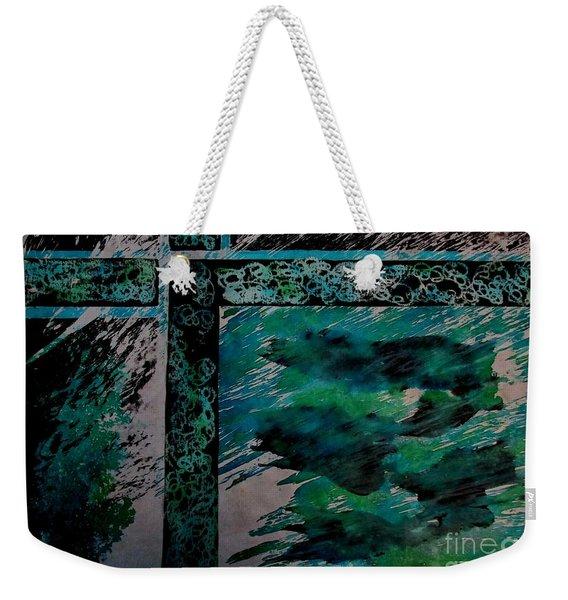 Fencing-1 Weekender Tote Bag