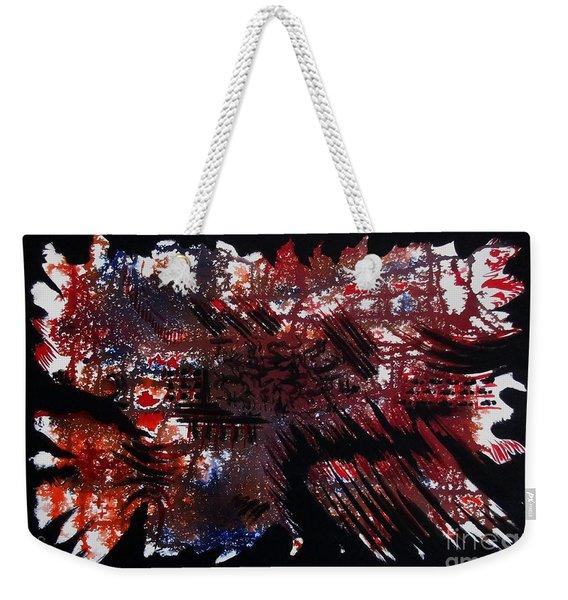 Red Kiss Weekender Tote Bag
