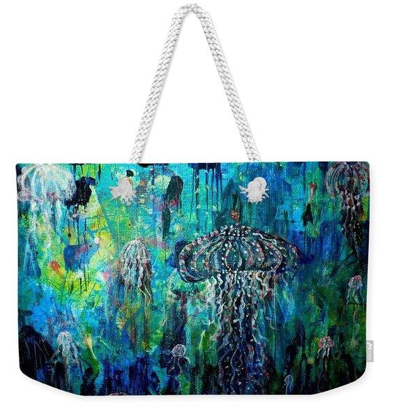 Ocean Deep Weekender Tote Bag