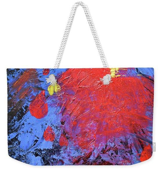 Untitled Abstract-7-817 Weekender Tote Bag