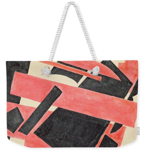 Untitled Composition Weekender Tote Bag