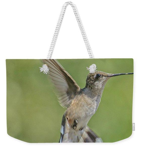 Untitled Hum_bird_four Weekender Tote Bag
