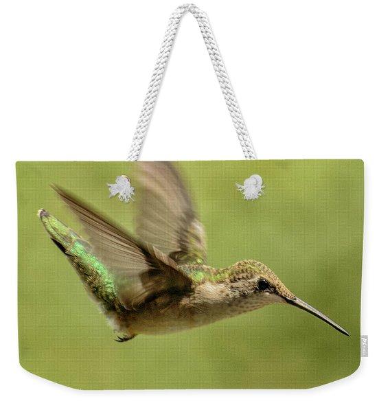 Untitled Hum_bird_one Weekender Tote Bag