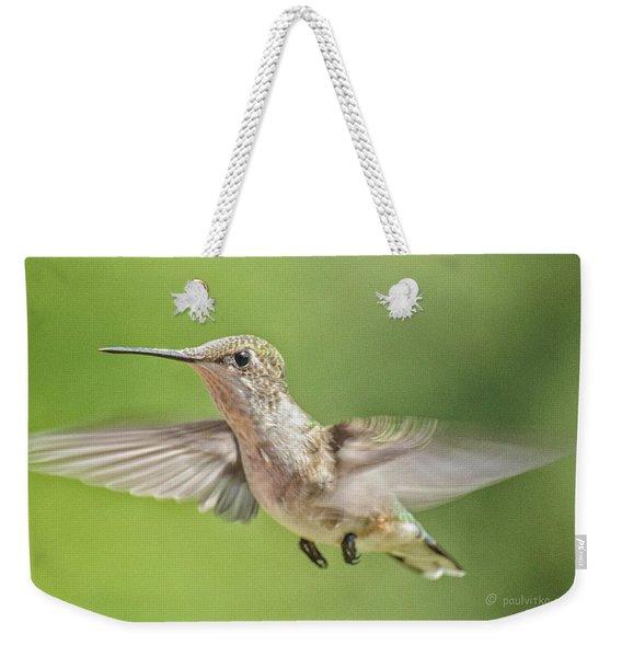 Untitled Hum_bird_three Weekender Tote Bag
