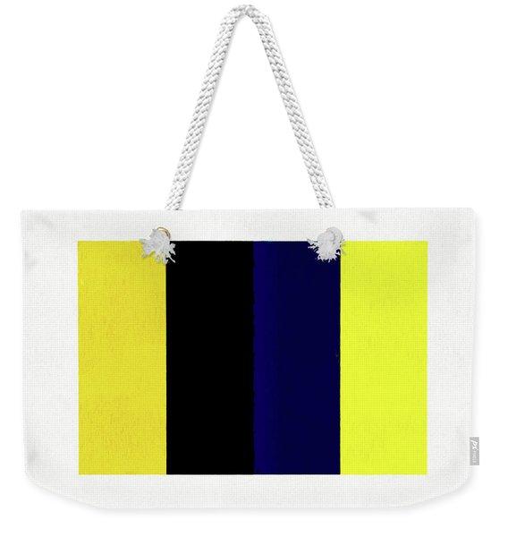 Untitled Number 3 Weekender Tote Bag