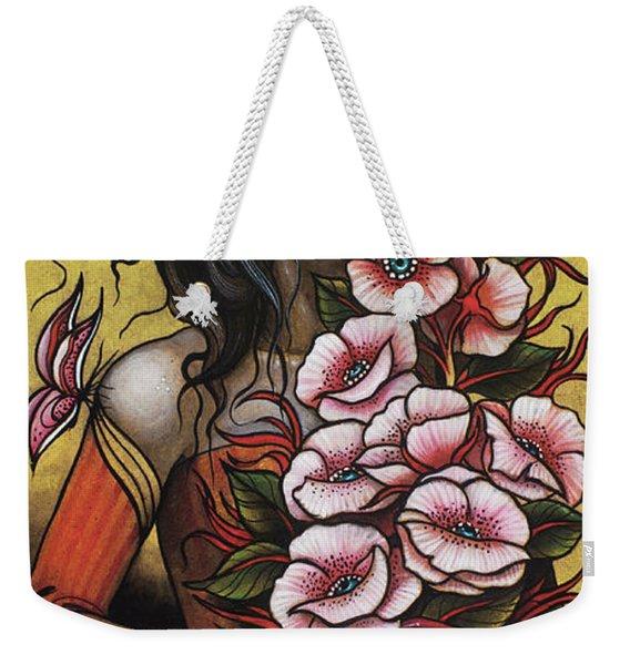 Bouquet Weekender Tote Bag