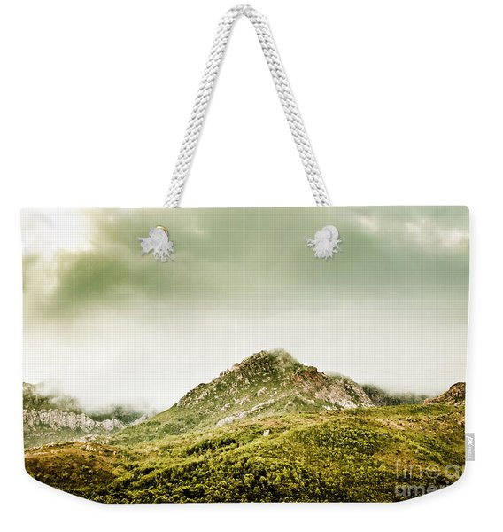 Untouched Mountain Wilderness Weekender Tote Bag