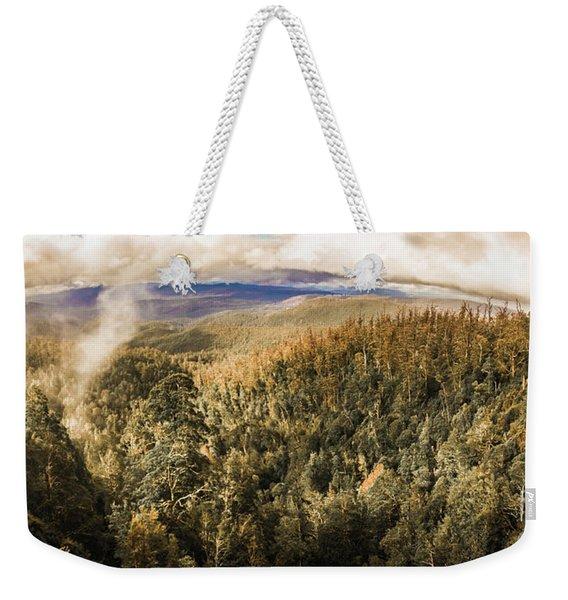 Untouched Wild Wilderness Weekender Tote Bag