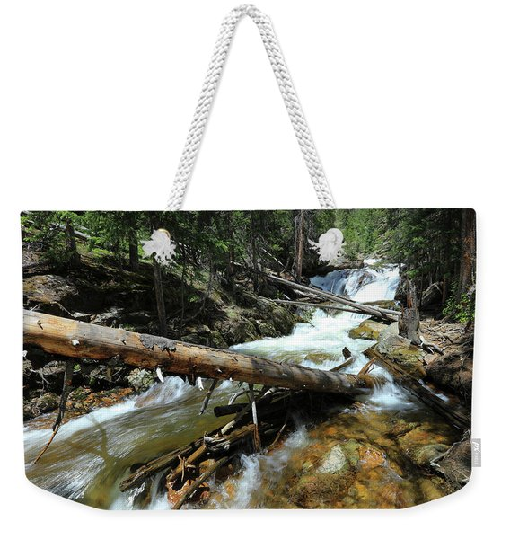 Up A Log Weekender Tote Bag