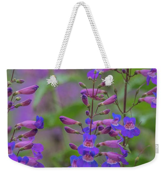 Up Close And Personal With Beauty Weekender Tote Bag