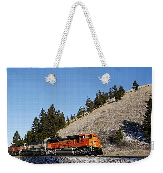 Up Hill And Into The Sun Weekender Tote Bag
