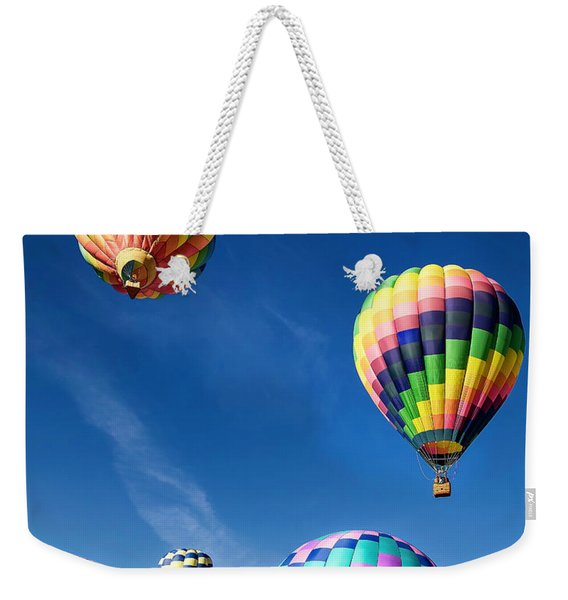 Up In A Hot Air Balloon 2 Weekender Tote Bag