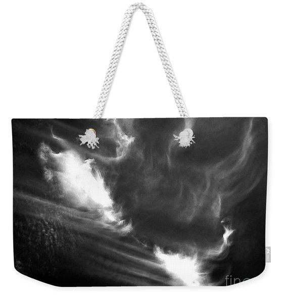 Up In The Clouds Weekender Tote Bag