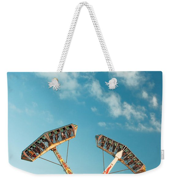 Up Side Down Weekender Tote Bag
