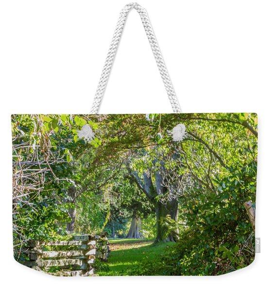 Up The Secret Path Weekender Tote Bag