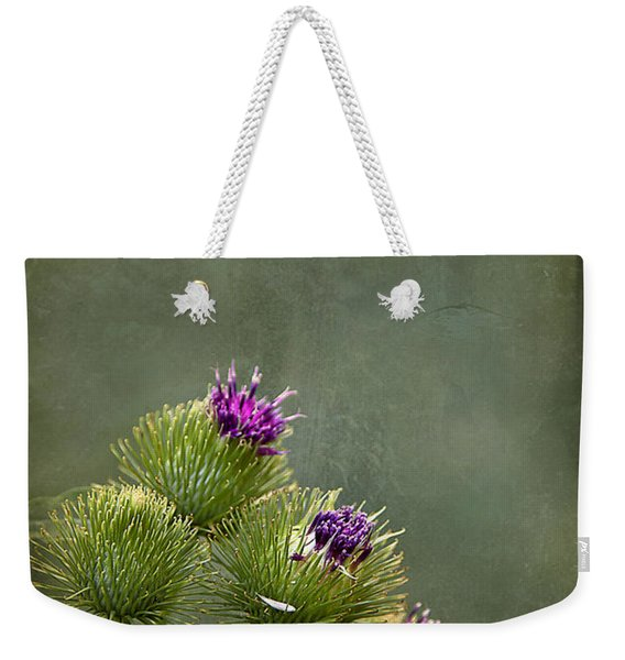 Up To The Point Weekender Tote Bag
