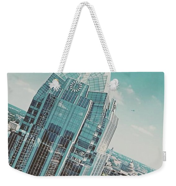 #upclose And Personal With The Frost Weekender Tote Bag