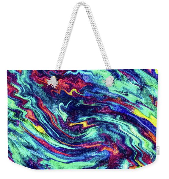 Upon The Face Of The Deep Weekender Tote Bag