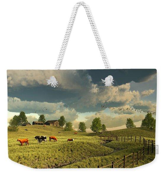 Upon The Rural Seas Weekender Tote Bag