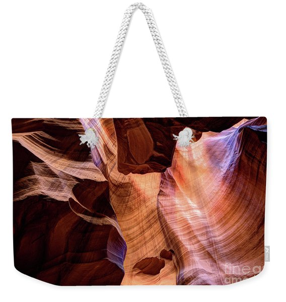 Upper Antelope Canyon Page Arizona Weekender Tote Bag