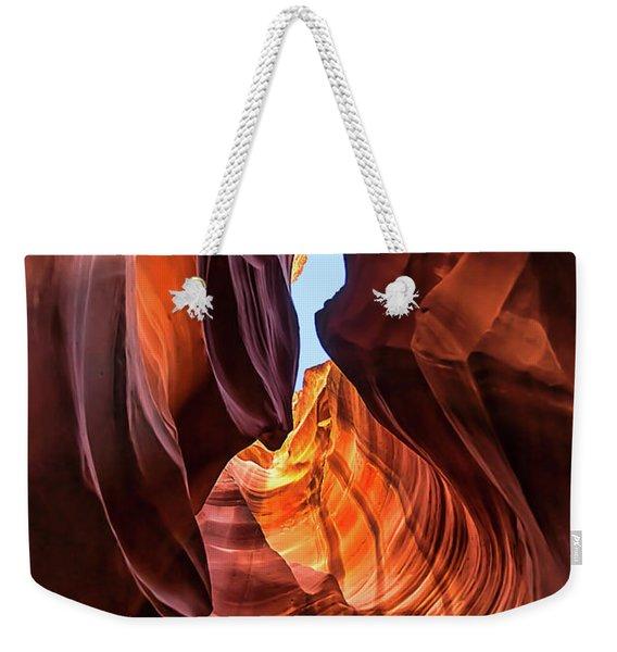 Upper Antelope Canyon Weekender Tote Bag