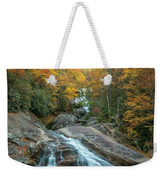 Upper Creek Autumn Paradise Weekender Tote Bag