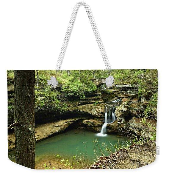 Upper Falls, Hocking Hills State Park 2 Weekender Tote Bag