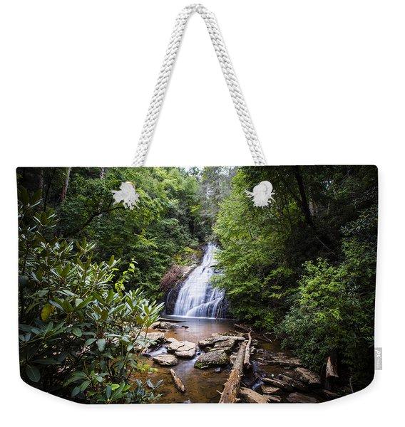 Upper Helton Falls Weekender Tote Bag