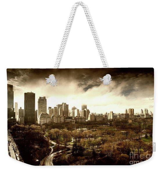 Upper West Side Of New York City Weekender Tote Bag