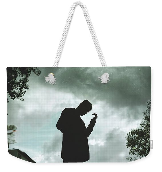 Upside Down Weekender Tote Bag