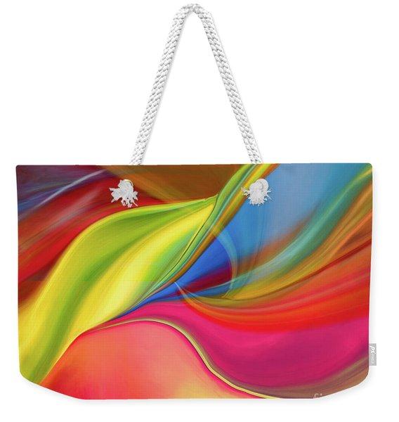 Upside Down Inside Out Weekender Tote Bag