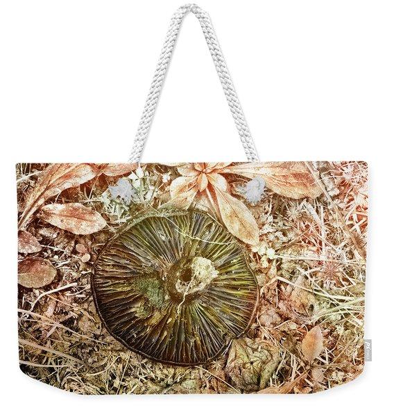Upside Down Weekender Tote Bag