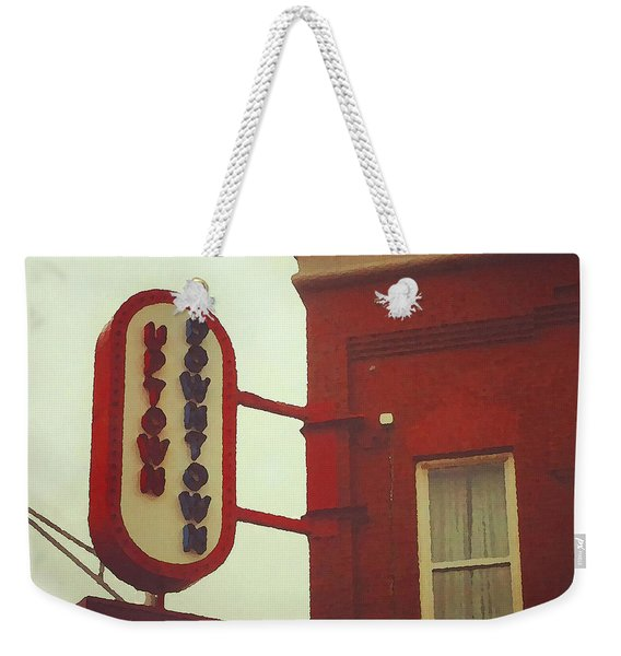 Uptown Downtown  Weekender Tote Bag