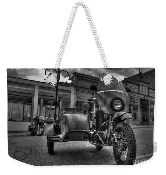 Ural - Bw Weekender Tote Bag