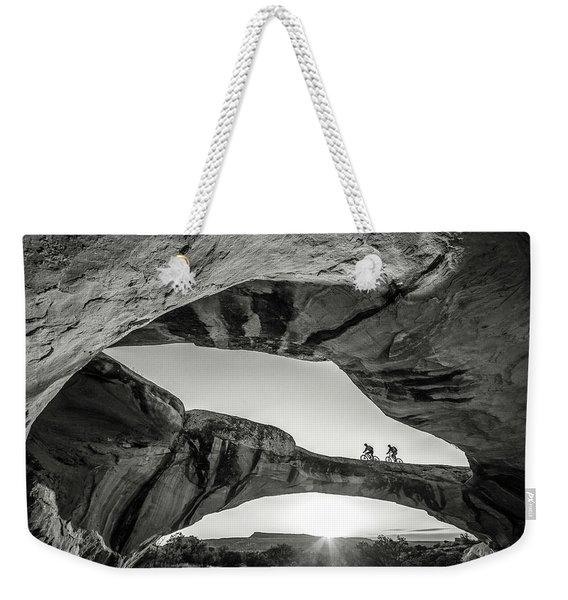 Uranium Arch Weekender Tote Bag