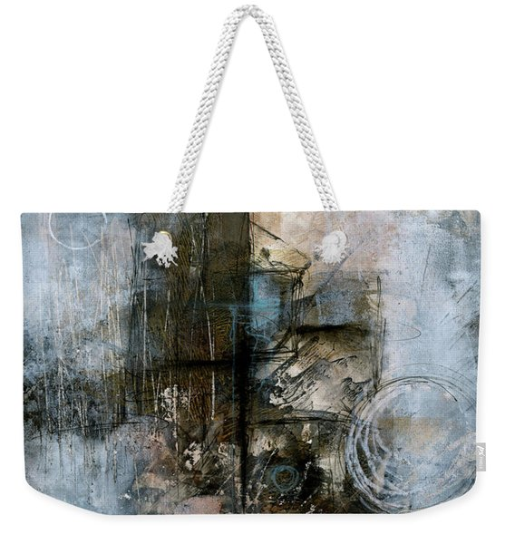 Urban Abstract Cool Tones Weekender Tote Bag