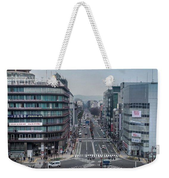 Urban Avenue, Kyoto Japan Weekender Tote Bag
