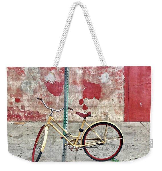 Urban Bike Weekender Tote Bag