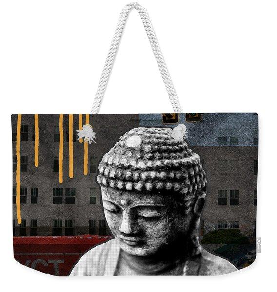 Urban Buddha  Weekender Tote Bag