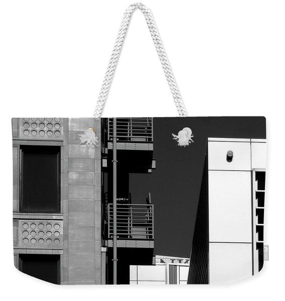 Urban Contrasts Weekender Tote Bag