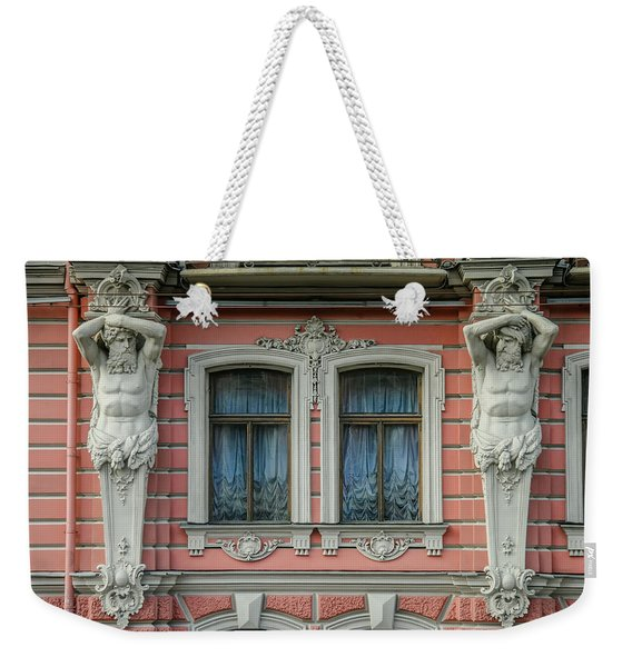 Urban Elegance Weekender Tote Bag