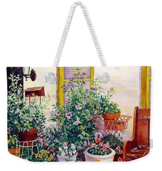 Urban Garden Weekender Tote Bag