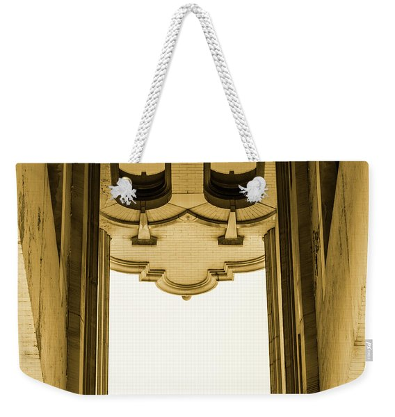 Urban Portals - Architectural Abstracts Weekender Tote Bag