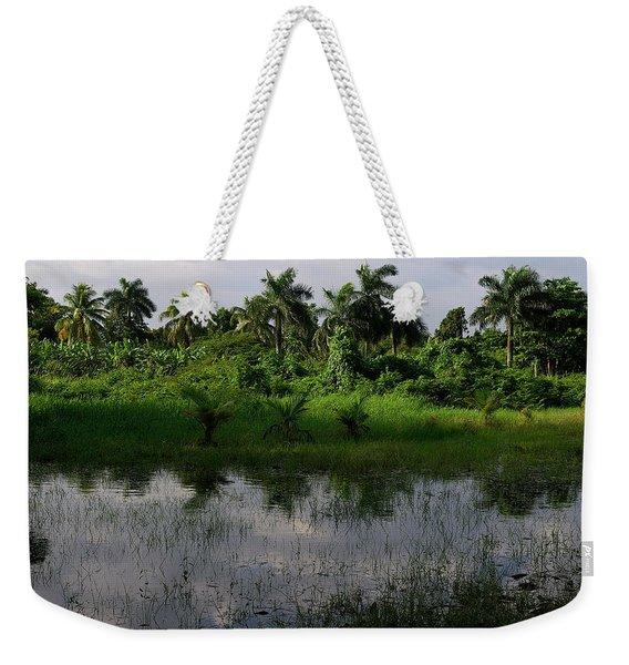 Urban Swamp Weekender Tote Bag